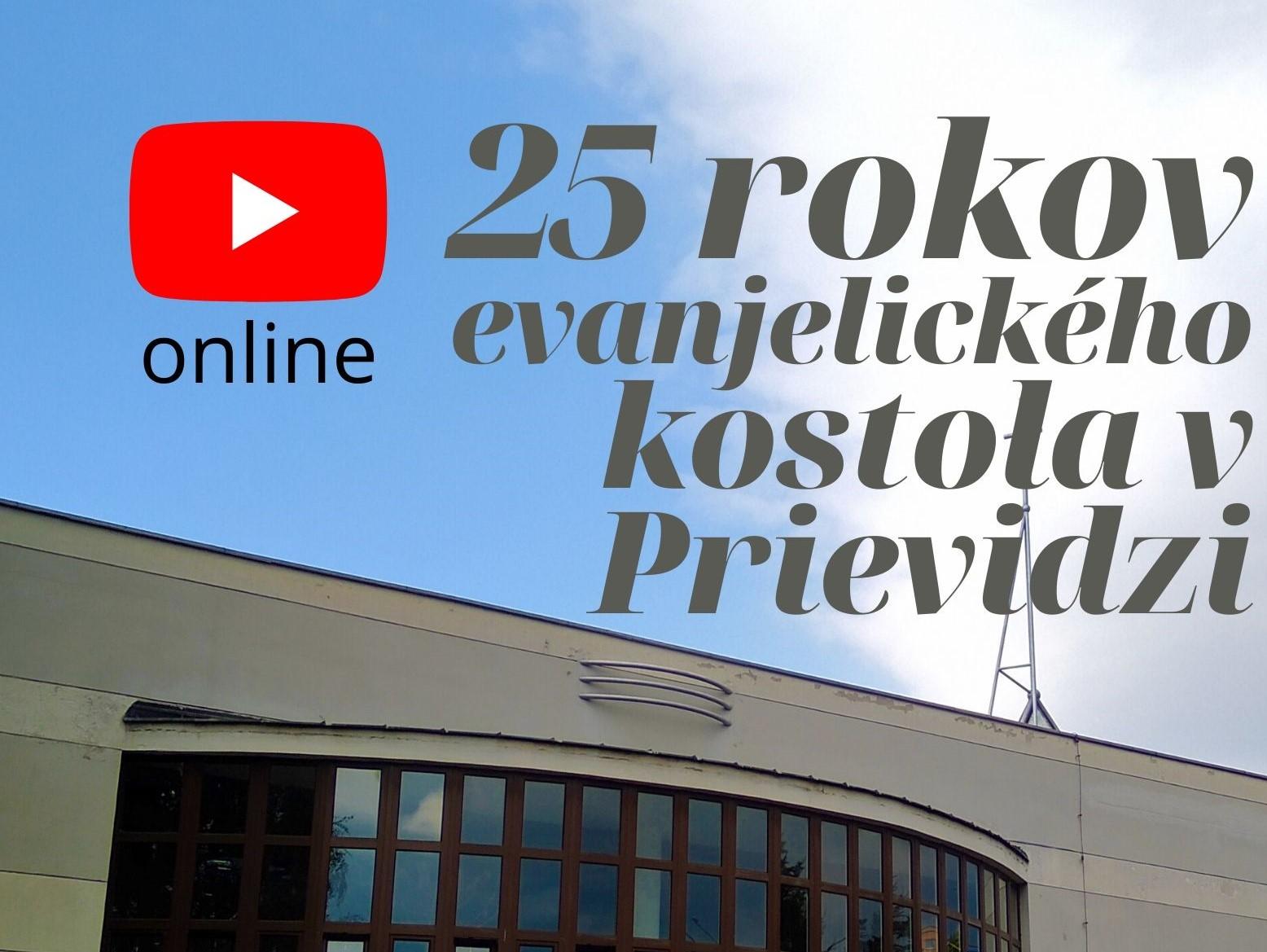 Živý prenos zo služieb Božích pri príležitosti 25. výročia posvätenia kostola v Prievidzi.